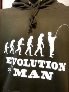 evolution fishing